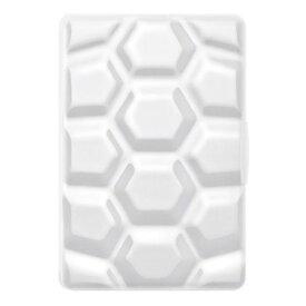 タブレットケース カバー iPad mini 第1世代 SwitchEasy ホワイト 白 手帳型 フリップ ポリカーボネート 帯電防止スクリーン保護フィルム(1枚) Lightningコネクタプロテクター(2個) マイクロファイバークロス CARA