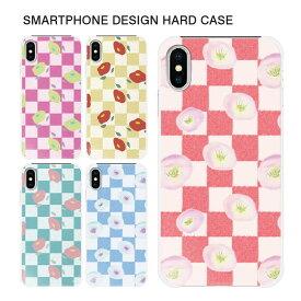 スマホケース ハードケース iPhone11 Pro Max iPhoneXR iPhone8 Plus XS/X xperia xz2 so-03k sov37 702so so-05k galaxy s9 plus sc-03k scv39 スマホカバー ハードケース かわいい きれい チェック 【スマホゴ】