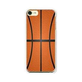 apple iPod touch6 クリアハードケース/カバー  【送料無料】【Basketball】アイポッドタッチ 第6世代 スマートフォンカバー・ケース