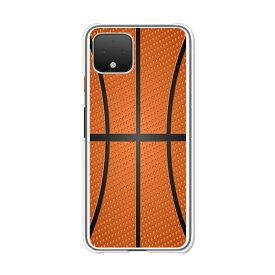 Google Pixel4 グーグルピクセル4 クリアハードケース カバー スマホケース 【送料無料】【Basketball】pixel4 softbank スマートフォンカバー 携帯ケース