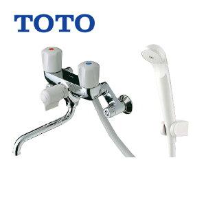 【送料無料】 TOTO 浴室シャワー水栓 蛇口 混合水栓 蛇口 壁付きタイプ [TMS20C] 2ハンドルシャワー水栓 スプレー(節水)シャワー 【シールテープ無料プレゼント!(希望者のみ)※水栓の箱