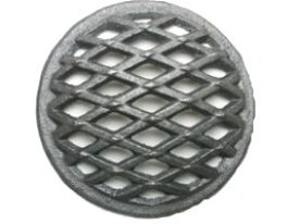 能登黒七輪用鋳物目皿(丸ロストル12cm)