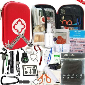 救急セット ファーストエイド キット 災害 登山 アウトドア サバイバル 旅行 自宅 携帯用 緊急応急 救急箱
