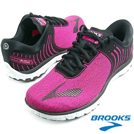BROOKS ブルックス WOMEN FLOW 6 (688) HEATHER/PINK GLO/BLACK スニーカー