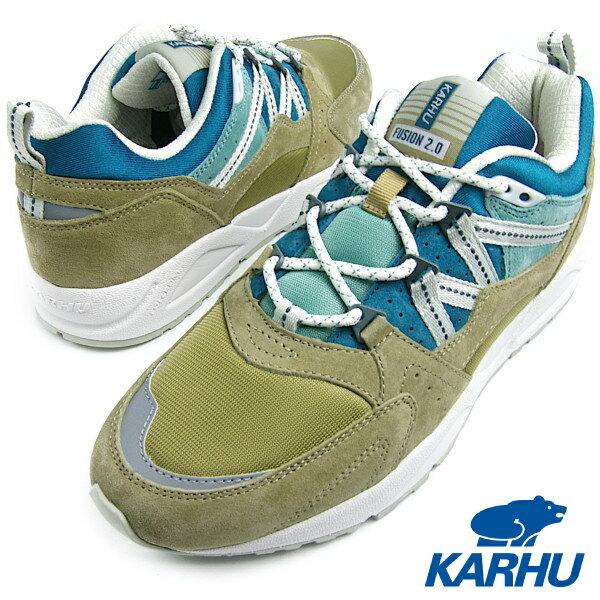 KARHU カルフ Fusion2.0 (フュージョン) BOA/ BLUE CORAL(ボア/ブルーコーラル) MEN スニーカー