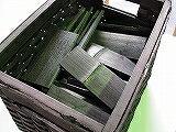 竹炭5cm、1,5kg籠付き、B籠