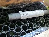 竹炭筒40cmx4〜7cm、ロングインテリア、室内装飾、吸着65本前後