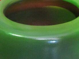 信楽モスグリーン火鉢、11号 H330×W250モスグリーン(オリジナル)。御使用の仕方によっては、素晴らしい空間が産み出される事と思います。