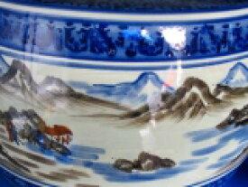山水火鉢10号 キンカ:C13−3,10号 340xH240 備長炭500g付きデザインの美しい座敷大型火鉢です。