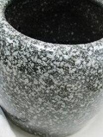 信楽焼手火鉢(約 W14cm×H10cm)と徳島産竹炭カット5cm 20枚セット--D