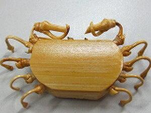 カニの箸まくら竹製 5匹セット販売 浄水竹炭5枚付
