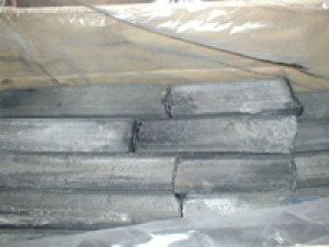 1級オガ炭 10kg 中国産 白炭