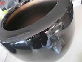 手ひばちセット、信楽焼手火鉢、W140×H100 火箸、25cm 毛せん、底白ネンド500g、そこ白石500g、備長炭500g付き