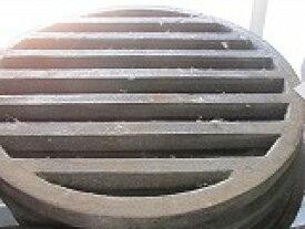 ロストル 39cm 鋳物丸 交換用 火起こし器底