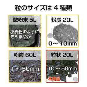 粒のサイズは4種類
