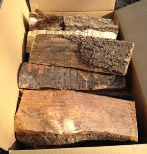 しらおい乾燥薪20kg「広葉樹ミックス」薪ストーブに最適な30cmカット