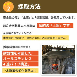 09-採取方法:安全性の高い「土窯」と「採取装置」を使用。