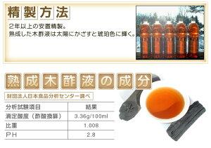精製方法・木酢液の成分