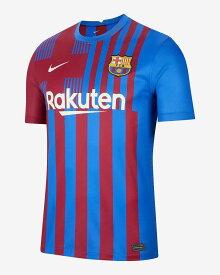 ナイキ 2021-22 NIKE-CV8222-428 バルセロナ FCB  ホーム ゲーム シャツ ジュニア キッズ
