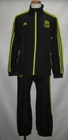 アディダス 2010-11リバプール UCL プレゼンテーション スーツ ジュニア キッズ LI263 P00768 ブラック/レモンピール