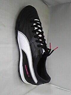 プーマ パラメヒコ ライト 15 TT ブラック×ホワイト×ピンク カンガルー レザー サッカー トレーニング シューズ フットサル 人工芝