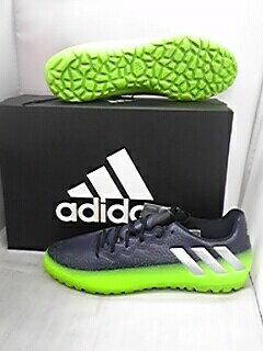 アディダス adidas メッシ 16.3 TF ダークグレー/シルバーメット/ サッカー トレーニング シューズ