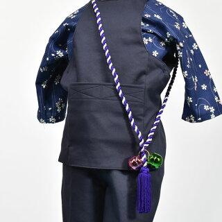たすき鈴【房付き】紫