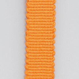 <メール便対象> お祭り用品 箱紐(平紐) オレンジ【#41】 幅12mm ※1m単位で切売りします [ はこひも ひらひも さなだひも おび 手芸 血止め 平打ちひも 平打紐 組みひも 組紐 tape 真田紐 ]