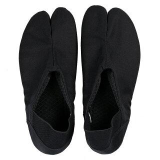スリッポン地下足袋祭りのあとサイズ:23.0cm〜28.0cmカラー:黒色※収納袋付き[まつりのあと祭のあと丸五たび忍者ブーツninjabootsスリッパ]