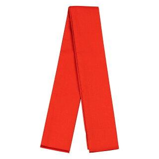 <メール便対象>お祭り用品・和装小物たすき(襷)赤あか・アカ・Red・タスキ・綾襷・手繦・着物・和装・袖・袂