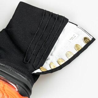 <送料無料>地下足袋丸五エアージョグV(第5世代)足袋用ソックス付き(期間限定)色:黒こはぜ枚数:6枚サイズ:22.5cm〜32.0cm[祭り足袋エアークッション祭り衣装忍者エアジョグブラッククロ]