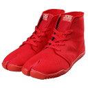 丸五 スポーツジョグ2 赤色 サイズ:22.5cm〜30.0cm [ 地下足袋 たび よさこい マラソン ジョギング スニーカー …