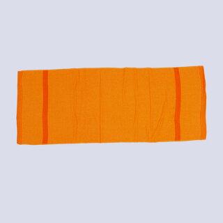 お祭り専用カラータオル(綿100%)無地オレンジ(橙色)タオル・フェイスタオル・ハンドタオル・スポーツタオル・たおる・towel・はちまき・お祭り用品・祭用品・お祭り衣装・祭衣装