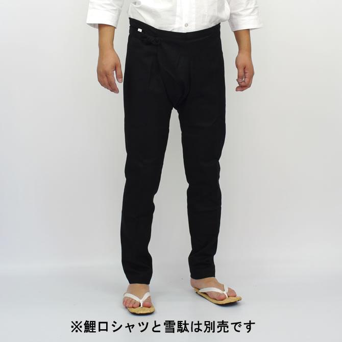 お祭り用品 黒刺子股引 小・中・大