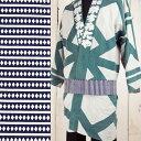<メール便対象>お祭り用品 大人帯 紺 ソロバン柄 長さ260センチ(さ-4) [ 祭り 衣装 帯 男性 女性 おび まつ…