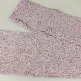 お祭り用品楊柳巻帯ムラ染め紫香草(ラベンダー)ひとえまきおび