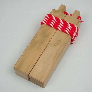 拍子木(ひょうしぎ)素材:桜長さ:20cm拍子木・ひょうしぎ・戸締り用心・火の用心・hyoshigi・夜回り・呼出し・和楽器・雅楽・祭り・お囃子・打楽器