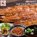 【詰合せお試しセット】送料無料!地焼き蒲焼き(140g〜159g)・鰻のやわらか煮(50g)・ふわっと鰻丼の素(65g)・肝…