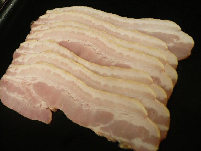 格安 プロも認める一流の味  ベーコンスライス 120g×5パック (計600g)