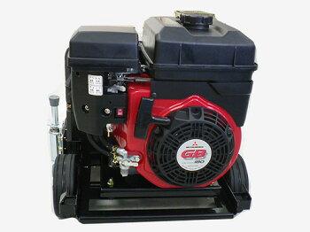 フルテックエンジン式簡易防音型高圧洗浄機【GE160】ホース30Mドラム付セット