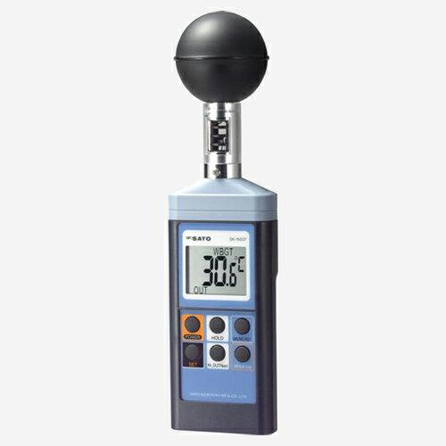 暑さ対策・熱中症予防対策用品 佐藤計量器製作所 熱中症暑さ指数計 【SK-150GT】 3脚付