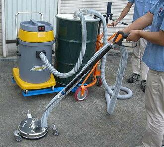 真空高压清洗机清洁喷气鼓 (地板和墙壁)