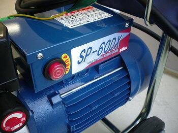 精和産業ダイヤフラム式エアレス塗装機電動エアレススーパー60DXホッパー仕様(ターンクリーンチップ・エアレスガン・ホース30M付)