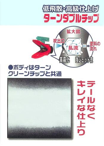 エアレス塗装機用精和産業ターンダブルチップターンWチップ