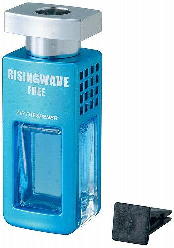 ◆激安【RISINGWAVE】セイワ◆ライジングウェーブ クルマ用芳香剤 エアコン取り付け型(フリーライトブルー)7ml◆