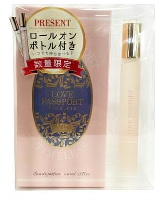 ◆激安【Love Passport】香水◆ラブパスポート タイムレス アニスEDP 40ml+ロールオン10ml 限定セット◆