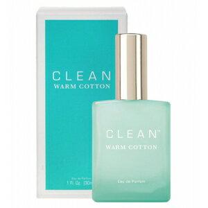 ◆送料無料!!【CLEAN】香水◆クリーン ウォームコットン オードパルファムEDP 30ml◆
