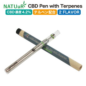 CBDリキッド 420 Disposable CBD Pen with Terpenes 4.2% ナチュール テルペン 配合 使い捨て CBD VAPE 電子タバコ E-Liquid CBDオイル CBD ヘンプ カンナビジオール カンナビノイド オランダ産 oil 効果 cbdオイル ヘンプオイル