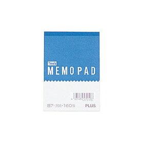 プラス メモ帳 ME-004 10冊パック 【無地】【B7サイズ】【1冊枚数:160枚】
