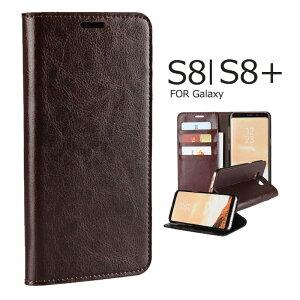 Galaxy S8 Galaxy S8+ ケース カバー 手帳型 本革 全面保護 Galaxy S8+手帳型ケース 手作り 高級本革 ギャラクシーs8 s8+ カバー 手帳 スマホカバー 横開き Galaxy S8+ケース カード収納 スタンド機能 Galaxy